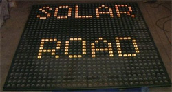 Asfalto fotovoltaico - Solar Road Panels