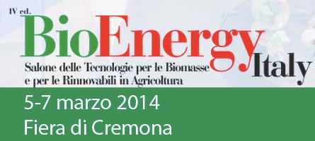 BioEnergy Italy 2014 Cremona Fiera