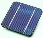 Cella solare in silicio monocristallino