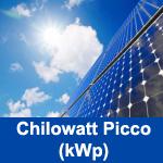 Definizione Chilowatt Picco (kWp)