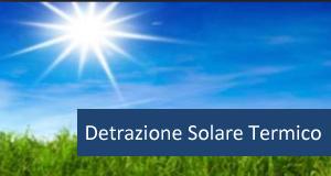 Ecobonus 65 solare termico