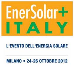 Enersolar+ Milano 2012