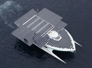 pannelli solari calpestabili barche PlanetSolar