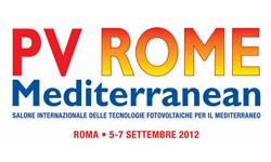 Fiera Fotovoltaico Roma Solar PV Rome Mediterranean 2012